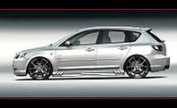 Пороги Mazda 3