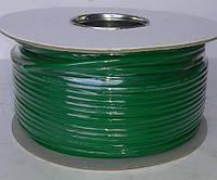 Кабель микрофонный 2жилы, Ø6мм, зелёный