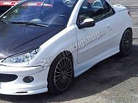 Пороги Peugeot 206