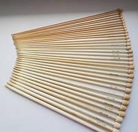 Набор бамбуковых спиц, 18 пар, 25 см