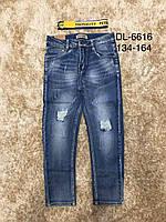 Джинсовые брюки на мальчиков оптом, F&D, 134-164 рр, фото 1