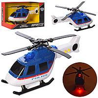 Гелікоптер AS-2782 АвтоСвіт, муз., світло, бат.(таб.), кор., 20-13-11см.