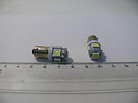Светодиодная (LED) лампочка с цоколем T4W-BA9s 12V