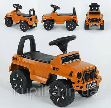 Машина-толокар 808 G-8109 JOY, цвет оранжевый