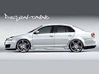 Пороги Volkswagen Jetta