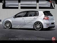 Пороги Volkswagen Golf 5