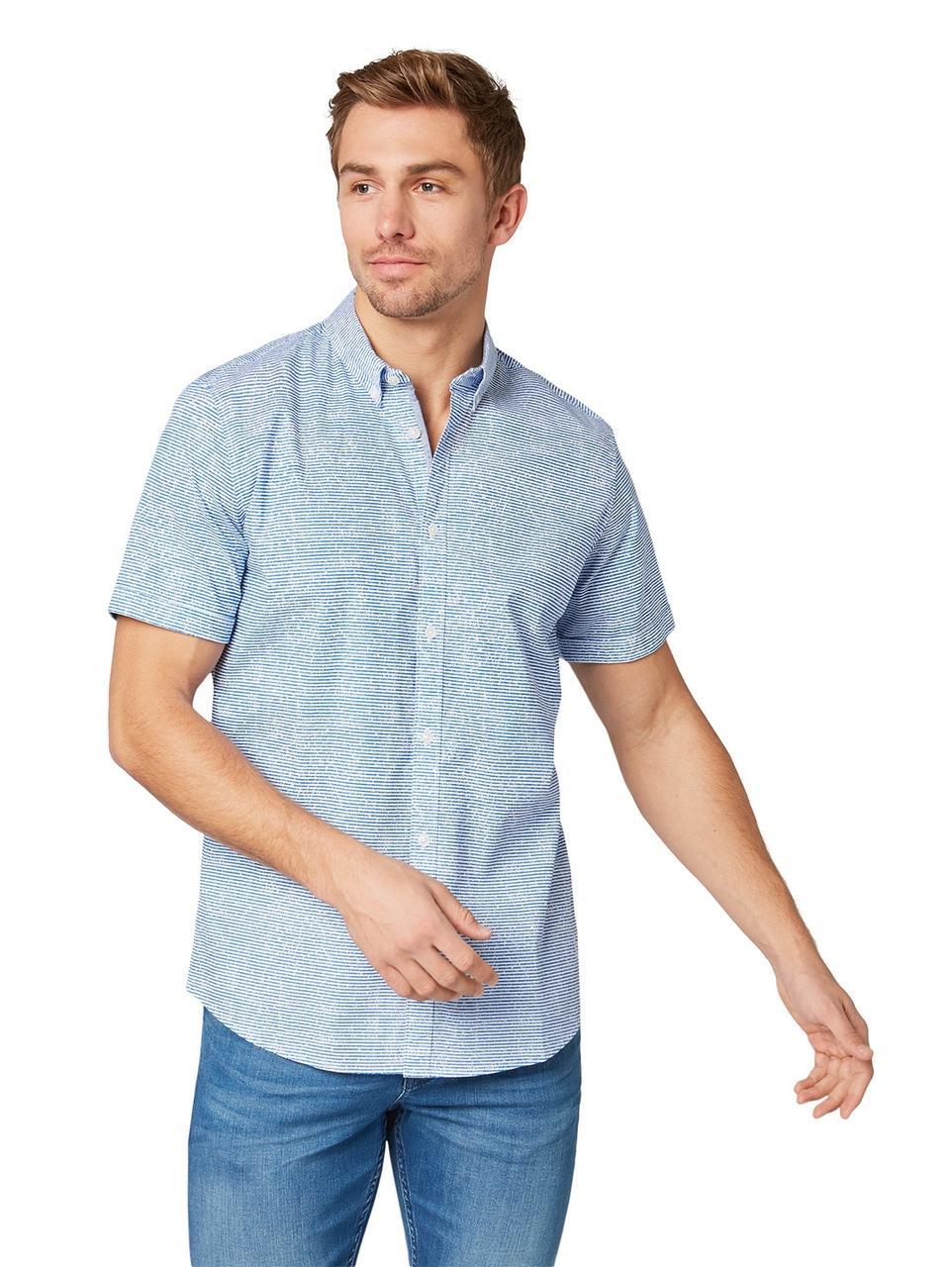 Рубашка Tom Tailor 1008193 XL Голубой