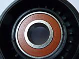 Ролик натяжителя ремня генератора на Renault Trafic 2.5dCi с 2003... Caffaro (Польша), CFR187-00, фото 5