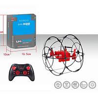 Квадрокоптер LH-X22 радіокер. 2,4 G, акум., USB, 2 кольори, світло, кор., 18,5-17-13 див.