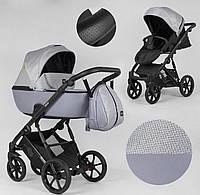 Детская коляска 2 в 1 Expander DEXO D-15022 цвет GreyFox,водоотталкивающая ткань и эко-кожа