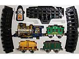 Детская железная дорога Классический экспресс на радиоуправлении Limo Toy 0622/40353, хорошие игрушки , фото 2