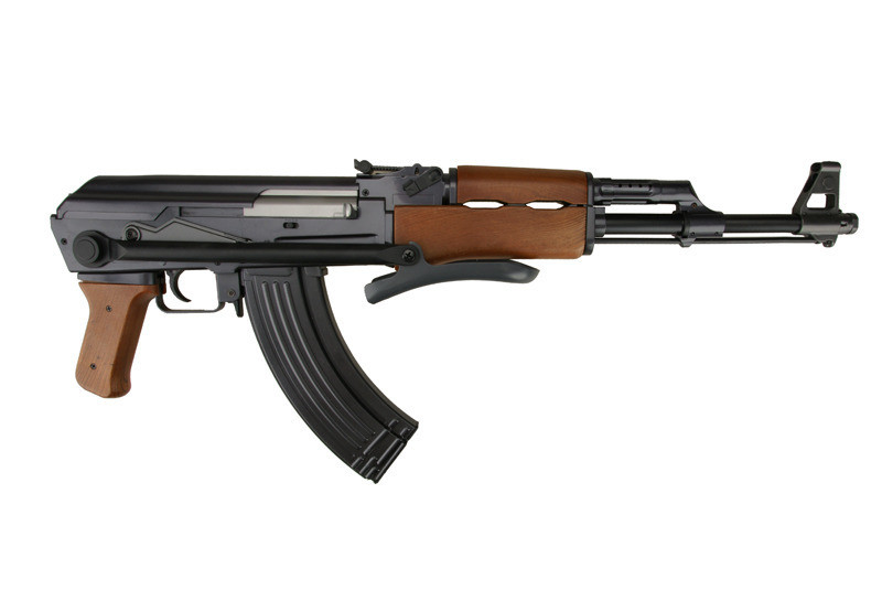 Автомат Калашникова ZM93-S, (Р1093) пульки в комплекті, метал, складаний приклад, іграшкова зброя