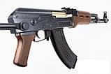 Автомат Калашникова ZM93-S, (Р1093) пульки в комплекті, метал, складаний приклад, іграшкова зброя, фото 3