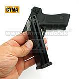 Игрушечный пистолет ZM17, копия Glok 17, на пульках, с предохранителем, затворная задержка, игрушечное оружие, фото 2