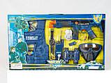 Детский набор полиции 33530, автомат, маска, бронежилет, бинокль, игра в полицейского, активные игры, фото 2