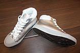 Кеди жіночі сріблясті зимові С981, фото 3