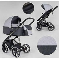 Детская коляска 2 в 1 Expander EXEO EX-21002 цвет Silver ткань с водоотталкивающей пропиткой