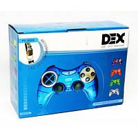 USB джойстик ПК PC GamePad DualShock вибро DEX 892