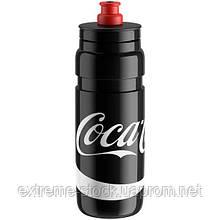Велосипедная фляга Elite Fly Coca-Cola, 750 мл