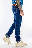 """Джинсы Franco Benussi 20-151 TOR 6551 L 38"""" синие, фото 4"""