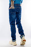 """Джинсы Franco Benussi 20-151 TOR 6551 L 38"""" синие, фото 8"""