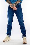 """Джинсы Franco Benussi 20-151 TOR 6551 L 38"""" синие, фото 6"""