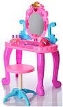 Детское трюмо 661-39, стульчик, фен на батарейках, расческа и др аксесуары., фото 2
