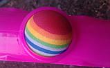 Гимнастический массажный обруч МS 0088, диаметр 99 см, 30 массажных шариков, разбирается на 6 частей, фото 2