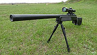 ТОП КАЧЕСТВО!!!! Игрушечная снайперская винтовка ZM51 на пульках с утяжелителем, подарки для детей, игрушечное