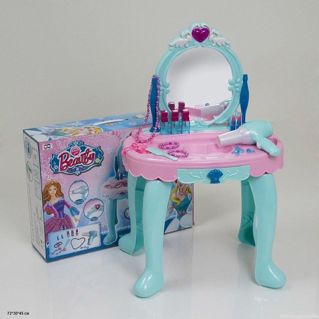 Дитяче трюмо Frozen, дзеркало, звукові ефекти, фен працює, подарунки для дівчаток