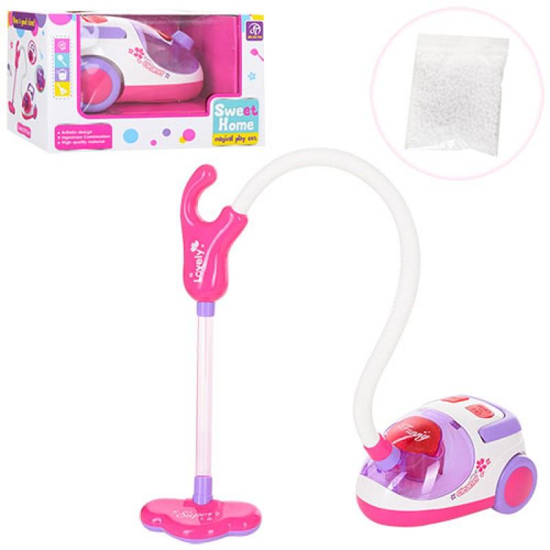 """Игрушечная пылесос """"Sweet Home"""", работает как настоящий, всасывает пенопласт, детские пылесосы"""