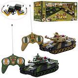 Танки на радіокеруванні, розмір танків 31см, світло і звук пострілу, танкова війна, танковий бій, фото 2