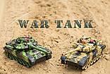 Танки на радіокеруванні, розмір танків 31см, світло і звук пострілу, танкова війна, танковий бій, фото 3