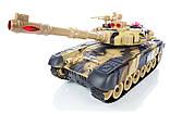 Танки на радіокеруванні, розмір танків 31см, світло і звук пострілу, танкова війна, танковий бій, фото 4