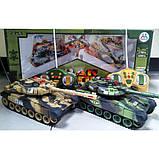 Танки на радіокеруванні, розмір танків 31см, світло і звук пострілу, танкова війна, танковий бій, фото 6