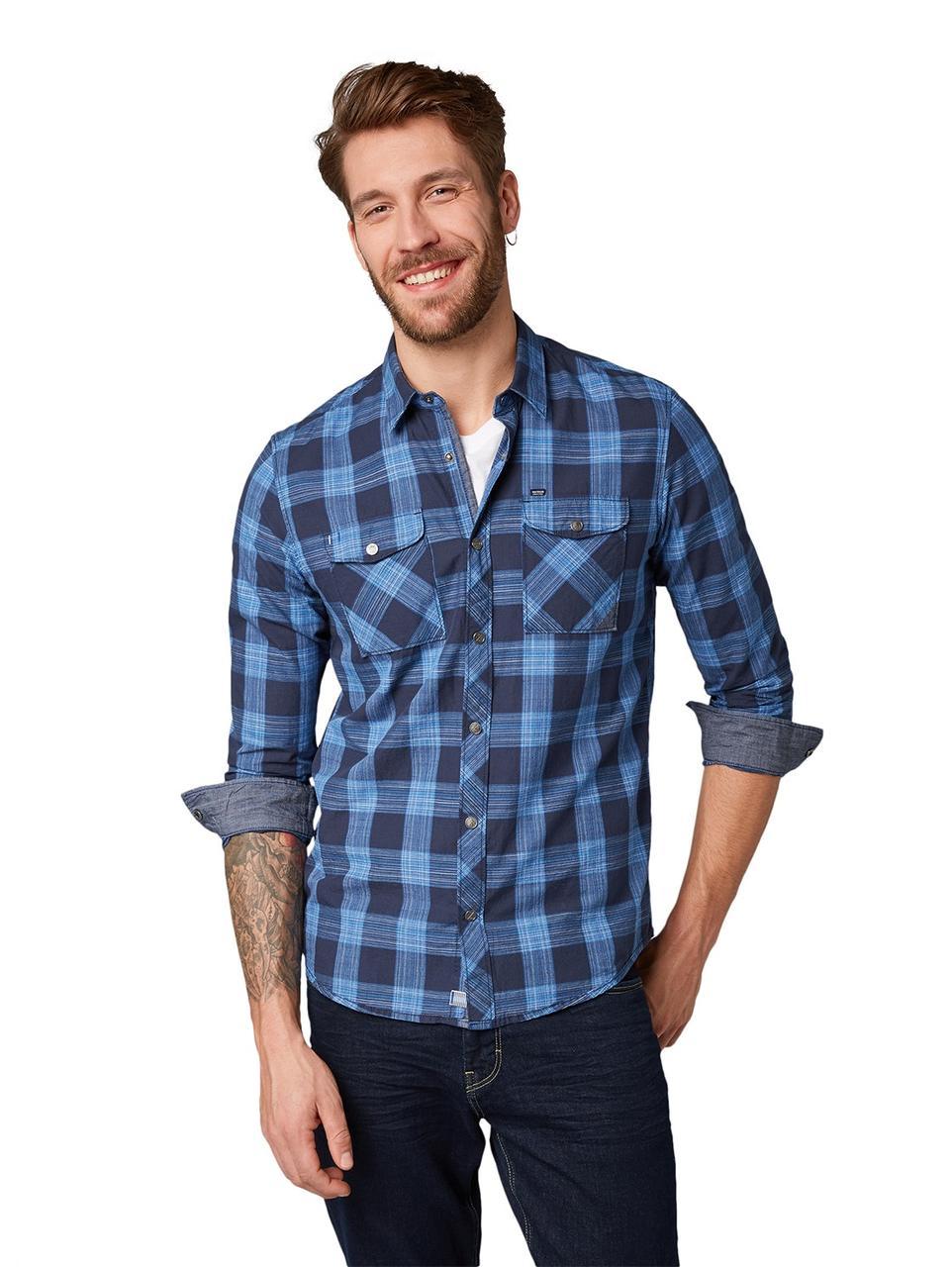Рубашка Tom Tailor 1007931 S Синий