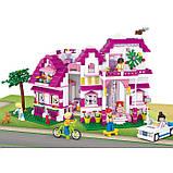 Конструктор Sluban M38-B0536 Рожева мрія Заміський будиночок , 726 деталей, фото 2