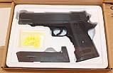 Детский пневматический пистолет ZM26 (Кольт 1911), металлический, фото 4