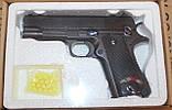 Іграшковий пістолет на пульках ZM04, метал і пластик, фото 5
