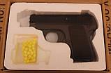 Игрушечный пневматический пистолет ZM03, копия пистолета Браунинг 1906, фото 6