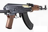 Автомат Калашникова ZM93-S, (Р1093) пульки в комплекте, металл, складной приклад, игрушечное оружие, фото 2