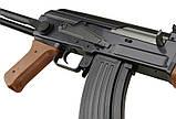 Автомат Калашникова ZM93-S, (Р1093) пульки в комплекте, металл, складной приклад, игрушечное оружие, фото 6