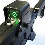 Игрушечная винтовка M4A1 на орбизах, колиматор, стреляет очередью, на аккумуляторе, мягкие пули, автомат м16, фото 3