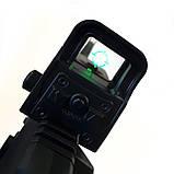 Игрушечная винтовка M4A1 на орбизах, колиматор, стреляет очередью, на аккумуляторе, мягкие пули, автомат м16, фото 7