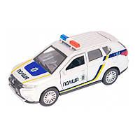 Игрушка - Автомодель Mitsubishi Outlander Police1:32 (OUTLANDER POL), Технопарк
