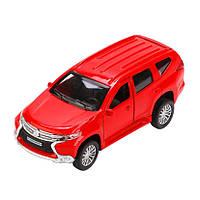 Игрушка - Автомодель Mitsubishi Pajero Sport Красная 1:32 (PAJERO SR), Технопарк