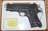 Игрушечный пистолет на пульках ZM04, металл и пластик, фото 4