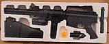 Игрушечная пневматическая винтовка М16, детский автомат 1158А отличный подарок маленькому вояке, фото 4