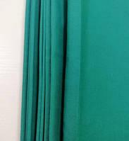 Простирадло на гумці зелена з бязі, будь-які розміри, з наволочками і без