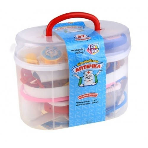 Детский игровой набор Доктор Чудо Аптечка 0461/2553, 37 предметов свет, звук